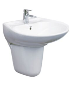 Chậu Rửa Lavabo Treo Tường Chân Lửng TOTO LHT300CR