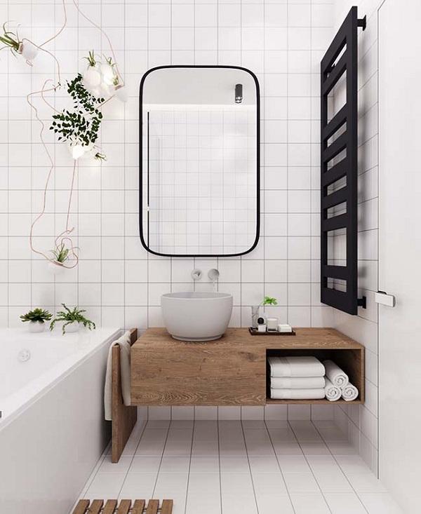 trang trí toilet