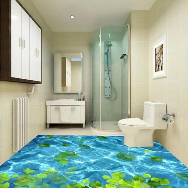 Mẫu nhà vệ sinh 3D