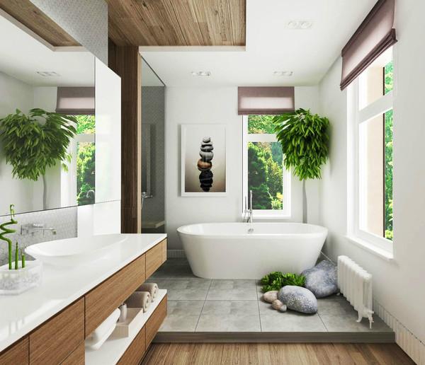thiết kế phòng tắm