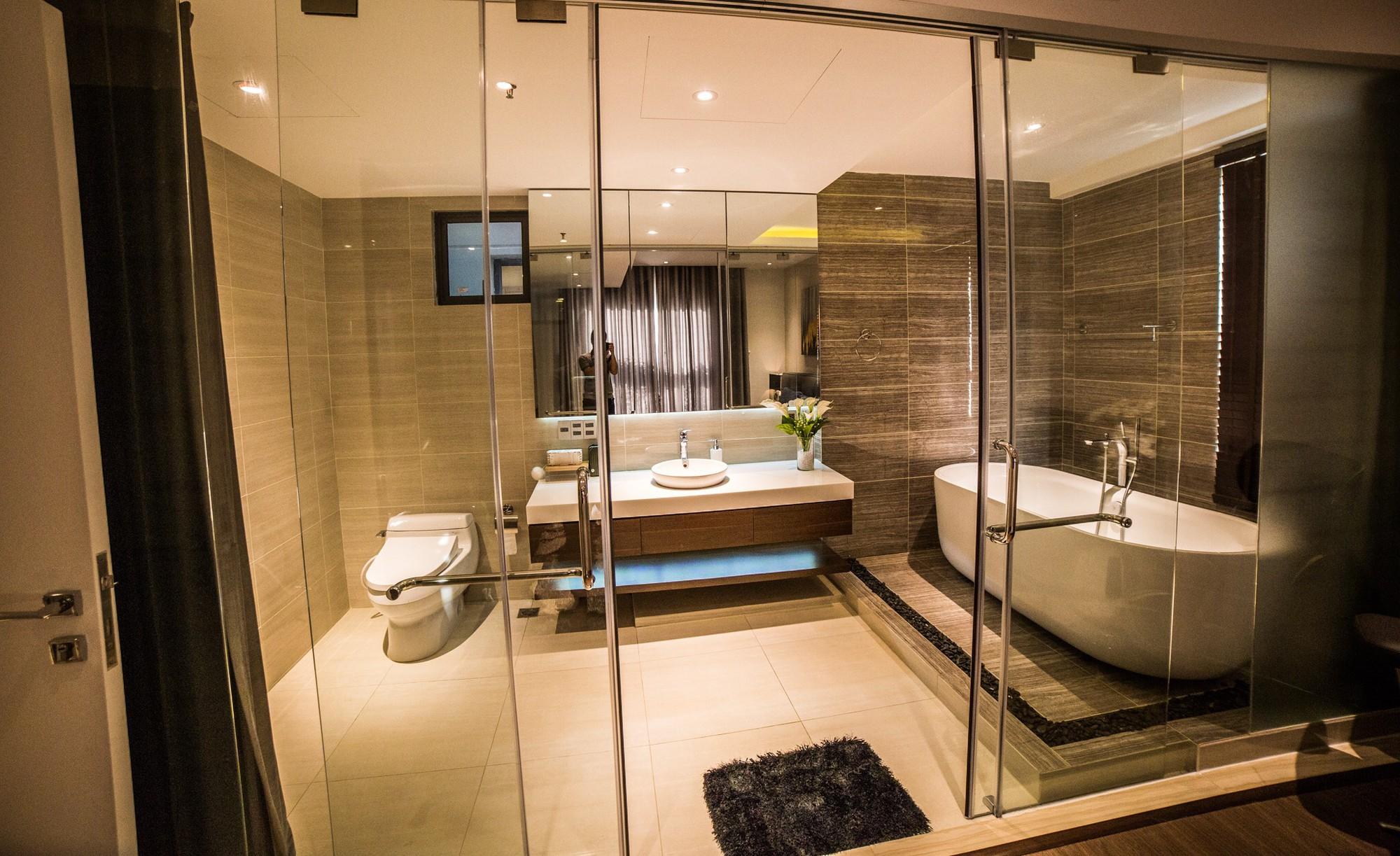 Những Mẫu Thiết Kế Phòng Tắm Khách Sạn hiện đại và tiện nghi nhất